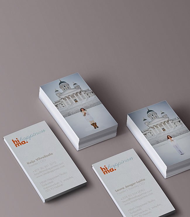 HIMA business cards