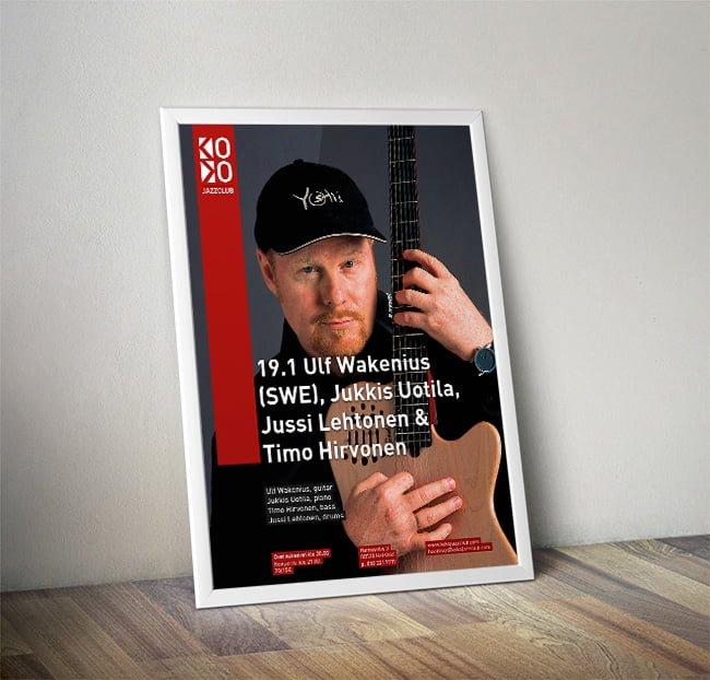 ulf wakenius poster